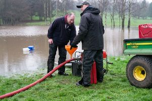 Working the Knaresborough greens to get golfers back playing