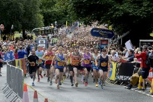 The Great Yorkshire Run in Harrogate.  Picture: James Hardisty