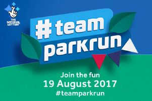 Join big name British athletes and take part in #teamparkrun on August 19, 2017.