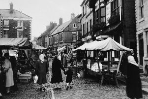 The Market place pictured in 1957.