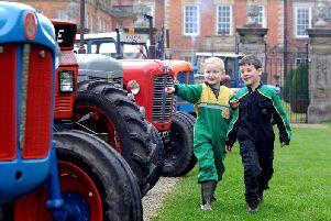 Tractor Fest at Newby Hall