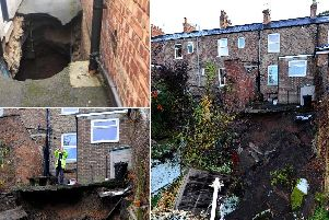 Some of the sinkholes in Ripon and across Yorkshire