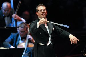 The John Wilson Orchestra will be playing at Leeds Town Hall.