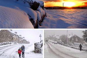 The Met Office has warned of freezing rain and snow blizzards this weekend.