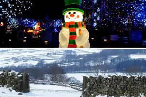 The predicted snow did not materialise across the Harrogate district this weekend, and we now look set for a wet and windy Christmas.