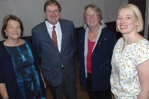 Knaresborough Community Land Trust Directors: Hilary Gardner, Coun David Goode, Coun Christine Willoughby and Emma Walsh
