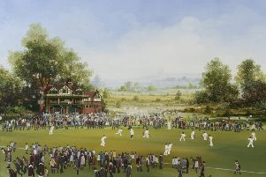 Brian Shields 'Braaq'' Cricket Match sold for �12,000.