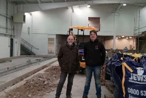 A bigger and even better future - Roosters' brewery's Ian and Oli Fozard in their new home in Harrogate.