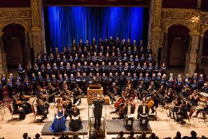 Harrogate Symphony Orchestra is preparing for its date at the Royal Hall