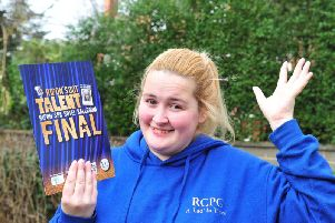 Ripon's Got Talent organiser Lily Worth.