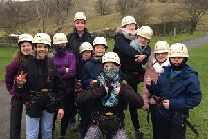Dales outdoor  adventure for  Rossett pupils