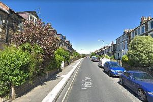 The burglary happened in Mayfield Grove, Harrogate. Picture: Google