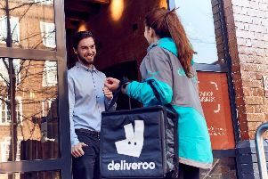 Rapid growth in Harrogate - Deliveroo, the on-demand food delivery service.