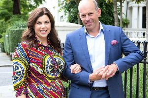 Property experts Kirstie Allsopp and Phil Spencer.