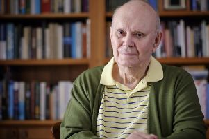 Playwright Sir Alan Ayckbourn turns 80 in April