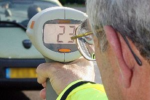 Police are catching fewer drivers speeding on roads in North Yorkshire, new data reveals.