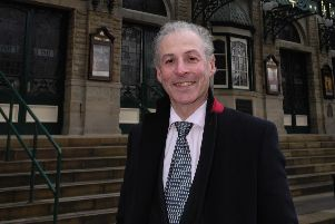 Worried about pedestrian safety on Station Parade in Harrogate - Resident Russell Davidson.