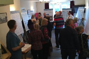 The exhibition of Congestion Study material at Pannal.