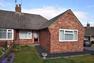 Manor Orchard: This two bedroom bungalow in a peaceful cul-de-sac in Knaresborough sold at auction for �170,000.