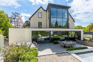 Pictured: The most expensive house in Harrogate.