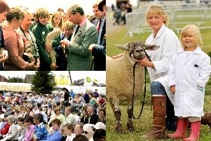 Looking back on past years of the Great Yorkshire Show