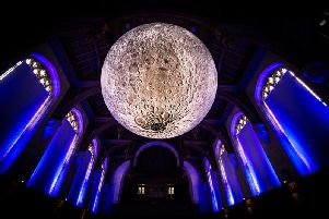 Opening this weekend in Harrogate - the incredible Museum of the Moon.