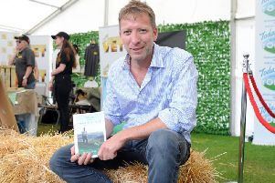 Yorkshire vet Julian Norton at the 161st Great Yorkshire Show in Harrogate. Picture by Tony Johnson.