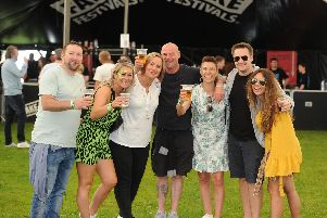 The Gunter family making the most of the festival.