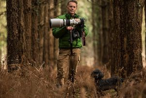 An Evening with Chris Packham will be held at the Royal Hall in Harrogate on October 19. Picture courtesy of Cause UK.