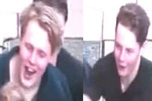 Do you recognise these men captured on CCTV?