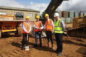 Work starts on 100-year-old business
