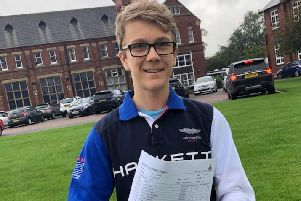 Ripon Grammar School student Toby Redfern has never let his severe allergies, which have seen him rushed to hospital six times -twice following reactions at school - stop him leading a normal life.