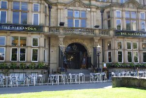 The gin festival is being held at the Alexandra pub on Prospect Place.