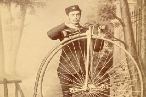 A classic penny farthing.
