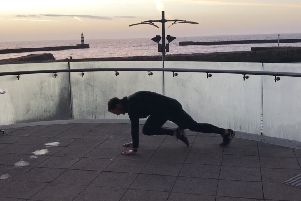 Fitness workout.