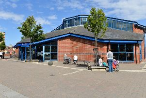 Hartlepool's Central Library on York Road.