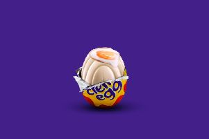 Will you be searching for a white Creme Egg?
