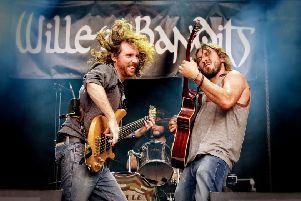 Top live act Willie and the Bandits set for Hartlepool date