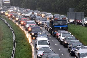 There has been a crash on the A19 (file pic).