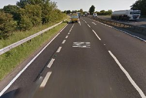The crash happened on the A19 in North Yorkshire.