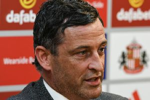 Sunderland boss Jack Ross. Picture by Kevin Brady