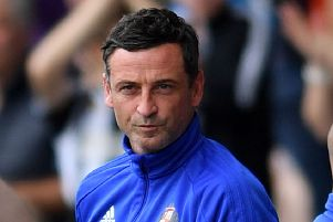 Sunderland boss Jack Ross. Picture by Frank Reid.