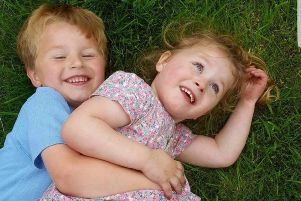 Little Lewis is going on the run for charity which helps his autistic sister