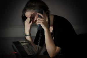 Childline encourages people to talk when suffering from anxiety.