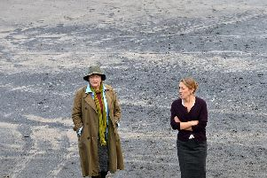 Vera filming taking place.
