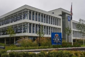 Durham Police's headquarters.