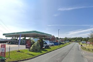Police were called to Wolviston Services on Friday. Picture credit: Google
