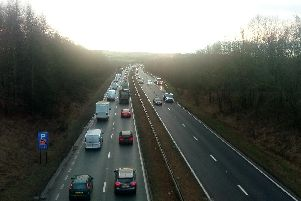 Traffic is moving again on the A19.