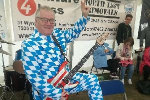 Les is known as Mr Heartlepool for his support of local charities.