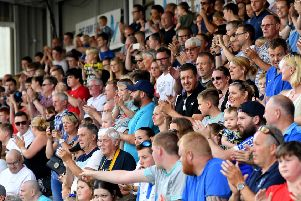 Hartlepool United supporters.